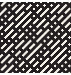 Seamless diagonal irregular dash lines vector