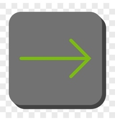Arrow right rounded square button vector