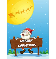 Merry Christmas vector image