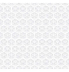 Geometric white pattern vector