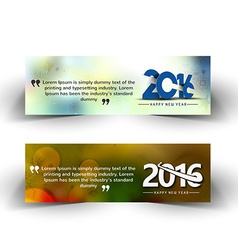 New year website header vector