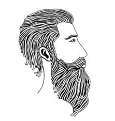Fashion hipster style vector