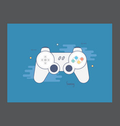 Gaming icon vector