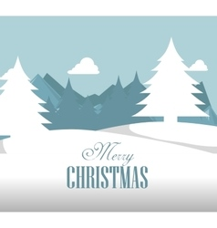 happy merry christmas icon vector image vector image