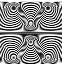 A black and white optical vector