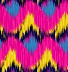 Ikat pattern vector