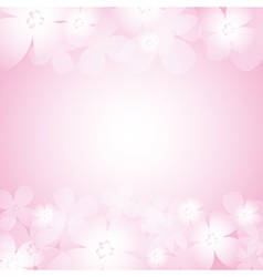 Beautiful pink flower background royalty free vector image mightylinksfo