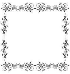floral vector background vector image vector image
