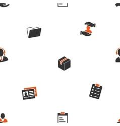 Office files seamless flat wallpaper vector