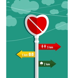 No love heart shape sign graphic design vector