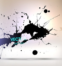 Paint splash background vector