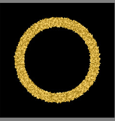 golgen leaf symbol triumph vector image