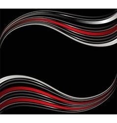 Modern red background dimension 3d overlap vector
