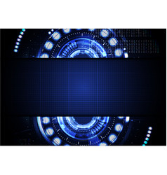 technological abstract digital cyber light vector image vector image