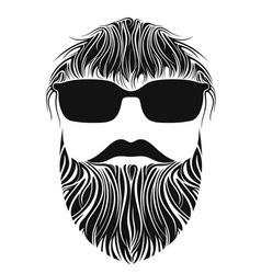 Beard men vector
