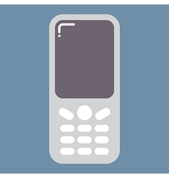 Mobile phone icon vector