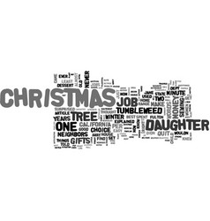 A tumbleweed christmas text word cloud concept vector