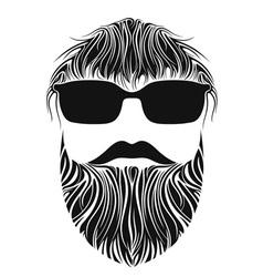 Beard Men vector image vector image