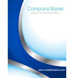 Company brochure vector