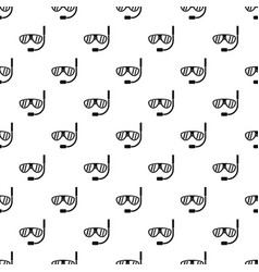Swimming mask pattern vector