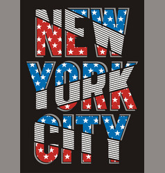 Vintage new york city vector