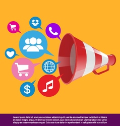 Public relations background vector