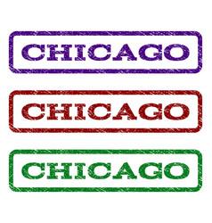 Chicago watermark stamp vector