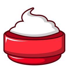 ice cream icon cartoon style vector image