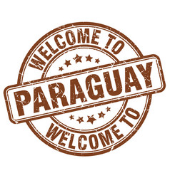 Welcome to paraguay vector