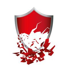 Shield emblem symbol vector