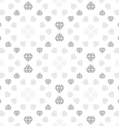 Light seamless pattern with diamonds vector