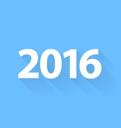 New 2016 year vector