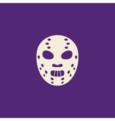 Halloween costume mask vector