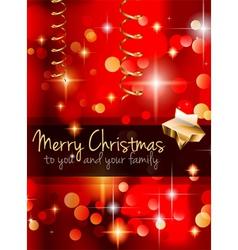 elegant classic christmas vector image vector image