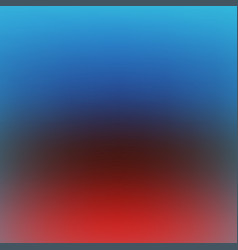 red and blue blurred background vector image