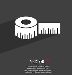 Roulette construction icon symbol Flat modern web vector image