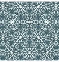 Seamless abstract pattern with repeating geometric vector image vector image