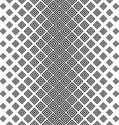 Seamless vertical black white square pattern vector