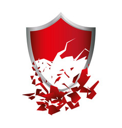 shield emblem symbol vector image