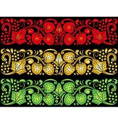 Decorative pattern design vector