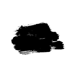 Grunge background brush stroke vector