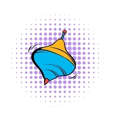 Whirligig comics icon vector