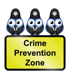 Crime zone uk vector