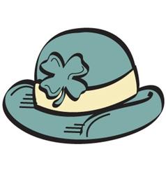 Derby hat vector image