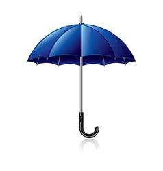 object blue umbrella vector image