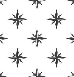 Compass rose seamless pattern vector