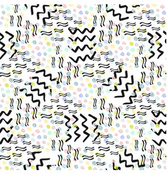 Hipster seamless pattern fashion background for vector
