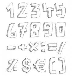 mathematicas vector image