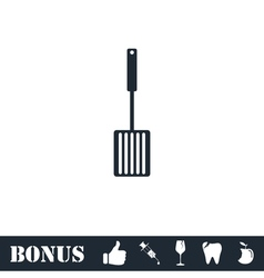 Cutters icon flat vector image