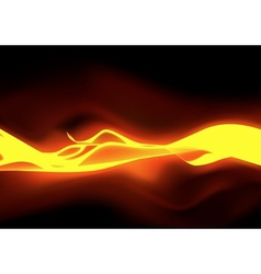 Fiery flames vector